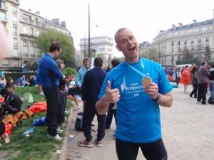 Paris marathon 2010