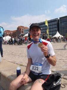 Copenhagen marathon PB aged 40