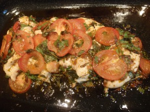 Chicken in herbs 3