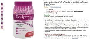 Maxitone Sculptress powder product