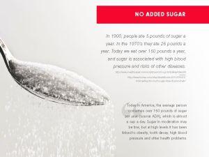 Vi cuts sugar