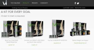 ViSalus core products