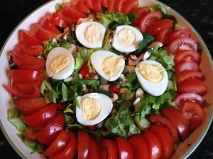 Large egg salad