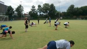 Rugby training July 15 17